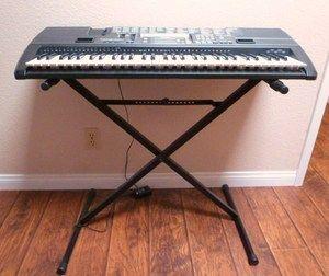 Casio CTK 720 Electronic Keyboard w Stand