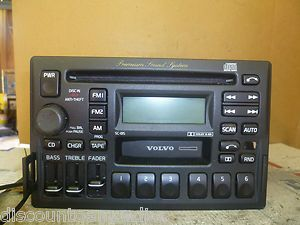 93 00 SC 815 Volvo CD Cassette Radio Premium 960 850 70 40 Black Face