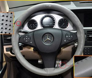 Car Auto Genuine Leather Steering Wheel Cover Car Accessories