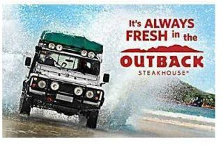 OUTBACK STEAKHOUSE Bonefish Grill Carrabbas Flemings Roys GIFT CARD