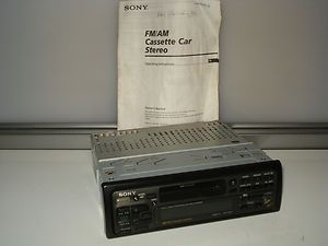 Sony XR C450 AM FM Cassette Player Car Stereo Radio MD CD Controlled