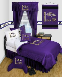 Baltimore Ravens Bedroom Decor More Items Buy 3 Items and Free