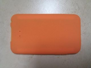 iPod Touch Silicone Skin Case 2nd 3rd Generation Orange