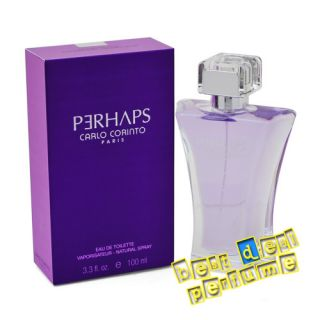 Perhaps  Carlo Corinto  3 4 oz EDT 3 3 Women Perfume  New in Box