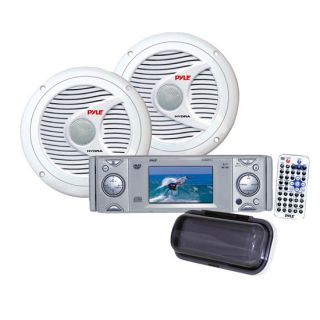 DVD CD Stereo Player Receiver 2X 150W 6 5 Speakers Cover