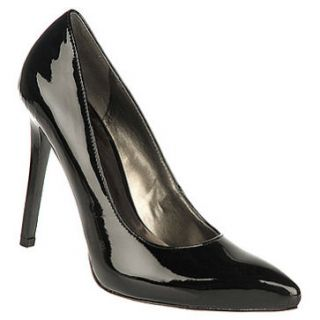 New Carlos by Carlos Santana Delicious Black Patent Dress Pumps Womens