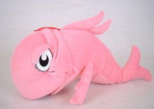 Dr Seuss Cat in The Hat Fish 14 Movie Plush Stuffed Doll