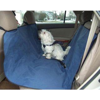57x57 Waterproof Hammock Pet Dog Cat Car Seat Cover Blue
