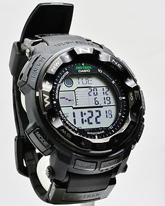 Casio Pathfinder ProTrek Atomic Solar Mens Watch PRW2500 1A NEW