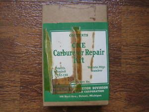 Carburetor Repair Kit Vintage Small Engines Generator Welder