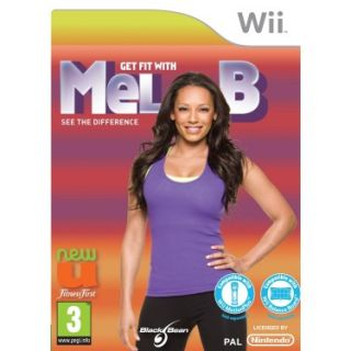 Get Fit with Mel B New SEALED for Nintendo Wii