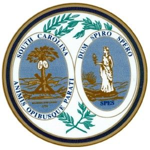 south carolina state seal vinyl decal sticker