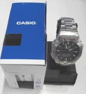 Casio WVA 470 Mens Wrist Watch Stainless Steel $130