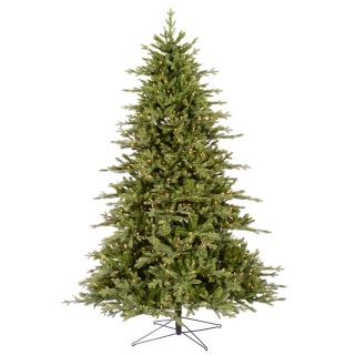 Clear Stay Lit Light Christmas Tree Prelit Lighted Cason