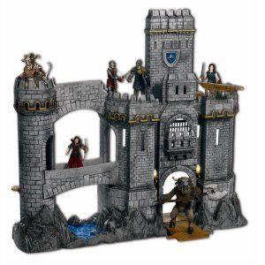Narnia Prince Caspian Deluxe Telmarine Castle Playset New SEALED