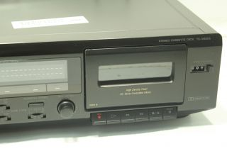 Sony Stereo Cassette Deck Dual Tape Player Recorder TC WE305 Used