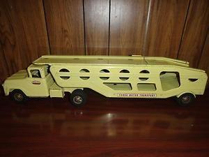 Vintage Tonka Motor Transport Car Truck Carrier 1950s 50s Kids Toy