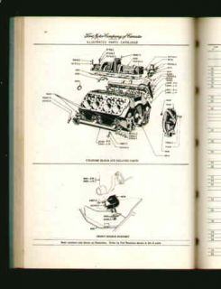 Ford Meteor Chassis Accessories Parts Catalog 1952