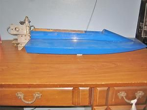cc Outboard Tunnel Catamaran Model Boat Marine Gas Engine 21