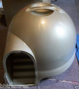 Booda Clean Step Igloo Style Self Contained Cat Litter Box
