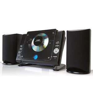 Coby CX CD377 Micro CD Player Stereo System with AM FM Tuner