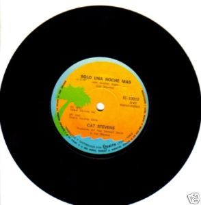 Cat Stevens Just Another Night 45 Single Chile 1980