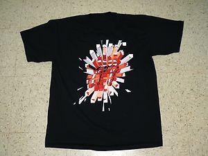 The Rolling Stones A Bigger Bang Tour T Shirt RARE Large Jagger