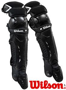 Wilson Promotion WTA3501BL Baseball Catchers Gear Leg Shin Guards