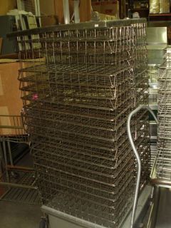 of Wire Transport Baskets for Restaurant Catering Cafeteria Use