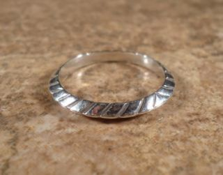 carolyn pollack sterling silver ring size 8 1 a269