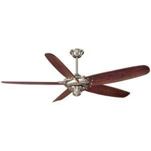 Hampton Bay Altura 68 Nickel Ceiling Fan with Remote New