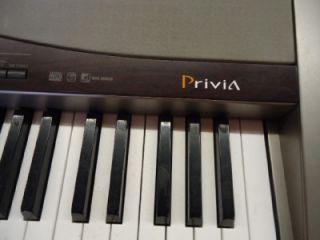 casio privia electronic keyboard