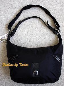 New with Tag Kipling Cathryn Medium Shoulder Bag Handbag Black
