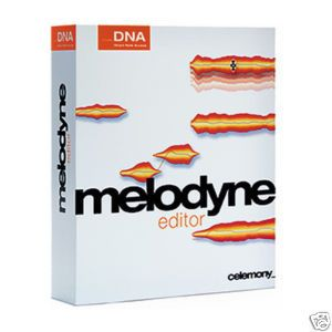 Celemony Melodyne Editor DNA Music Software NEW