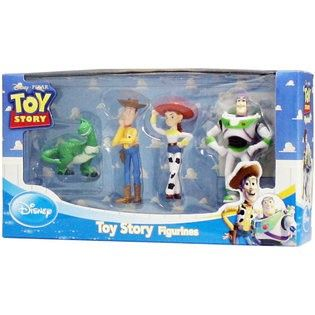 Disney Pixar Toy Story 4 pc figure set including Rex, Woody
