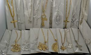 Large Assortment of Crosses Ankh Celtic Anchor Crucifixion