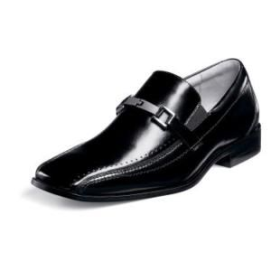 Stacy Adams Cavanaugh Mens Dress Shoes Black 21498 7 14
