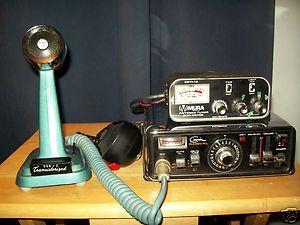 Courier Classic PLL Cb Radio Mura antenna Tuner Turner Base Mic