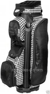 Ladies Golf Bag Cart Bags Beautiful New 2012 by RJ s Houndtooth Women