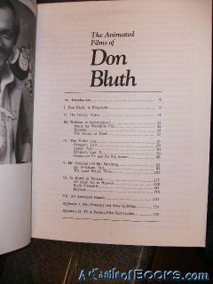 Animated Films of Don Bluth John Cawley 0685503348 0685503348