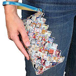 NEW Betty Boop Cartoon Character Fashion Zipper Wallet Purse Wristlet