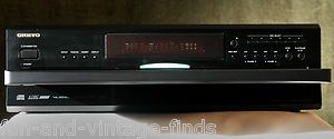 Onkyo DX C390 CD Carousel Changer AUDIOPHILE Compact Disc Player WORKS