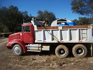 Western Star Dump Truck 3306 Cat Diesel Engine Runs Good Good Tires