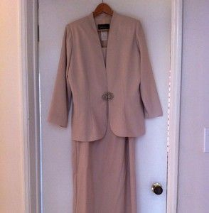 Caterina Collection Mother of The Bride Dress Size 14