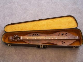 Mountain Dulcimer Cedar Creek Walnut Classic Custom Made USA Deluxe