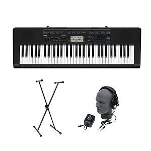 Casio 61 Key Portable Electronic Keyboard Musical Piano w Stand