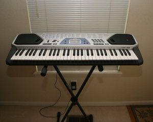 Casio CTK 481 Keyboard with 100 Rhythms Tones Song Bank