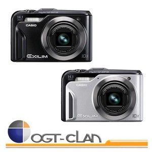 Casio Exilim EX H20G Zoom Camera with Hybrid GPS
