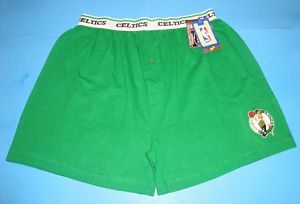 Boston Celtics NBA Boxer Shorts Men New s M L