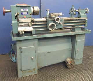 Rutland 12 x 32 Belt Driven Gap Bed Lathe 2649